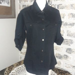 North face button down Blouse